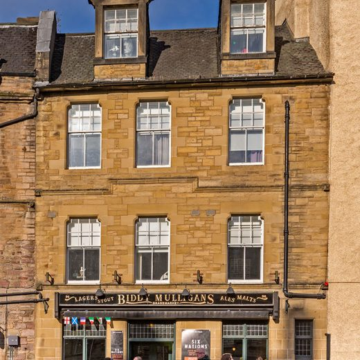 Biddie Mulligans, Edinburgh: Pub exterior