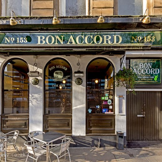 Bon Accord, Glasgow: Pub exterior