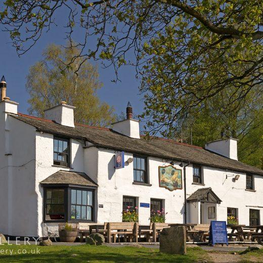Britannia, Elterwater: Pub exterior