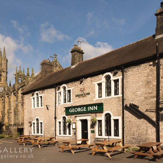 George Inn, Tideswell: Pub exterior