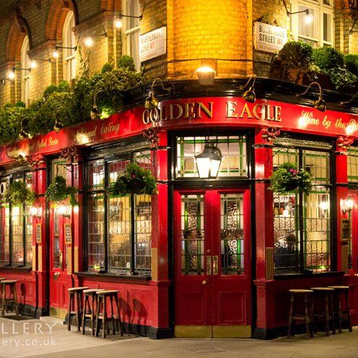 Pub Gallery: Golden Eagle, Marylebone