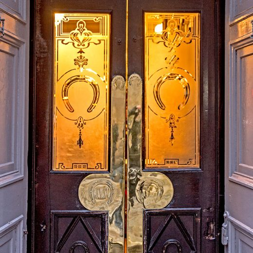 Horse Shoe, Glasgow: Pub doorway