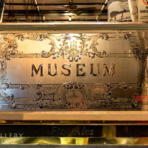 Museum Tavern, Bloomsbury: 'Museum' window