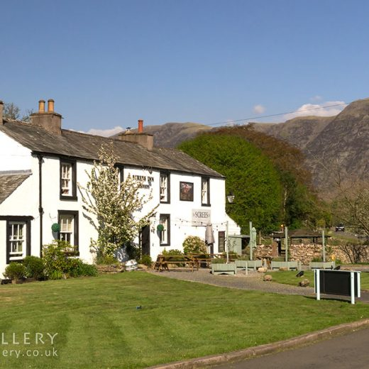 Screes, Nether Wasdale: Pub exterior