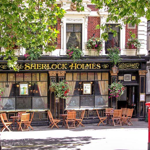 Sherlock Holmes, Charing Cross: Pub exterior