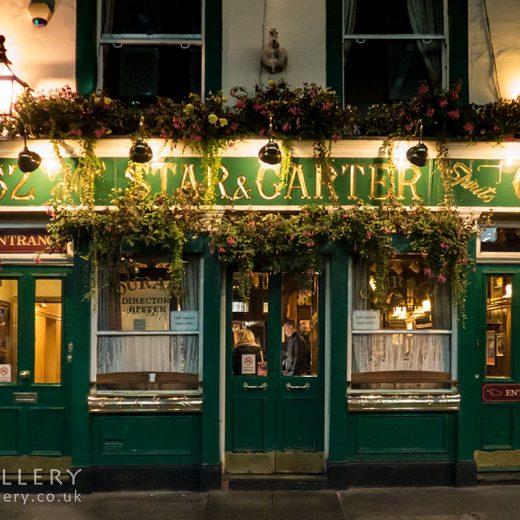 Star & Garter, Soho: Full pub exterior