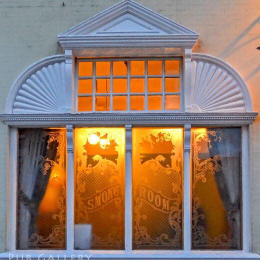 Belvedere, Liverpool: Smoke room window