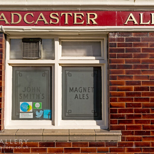 Golden Ball, York: 'Tadcaster Ales' tiled sign