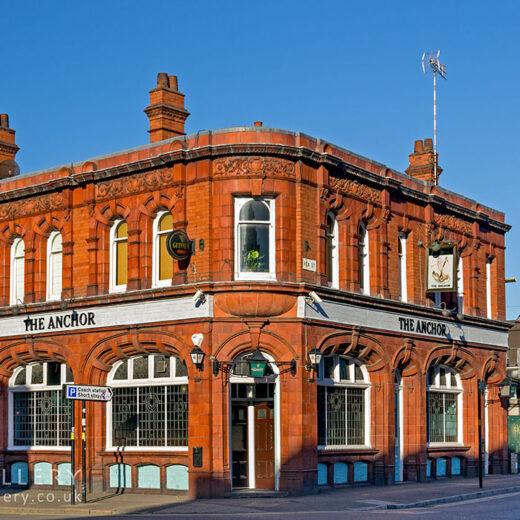Anchor, Birmingham: Pub exterior