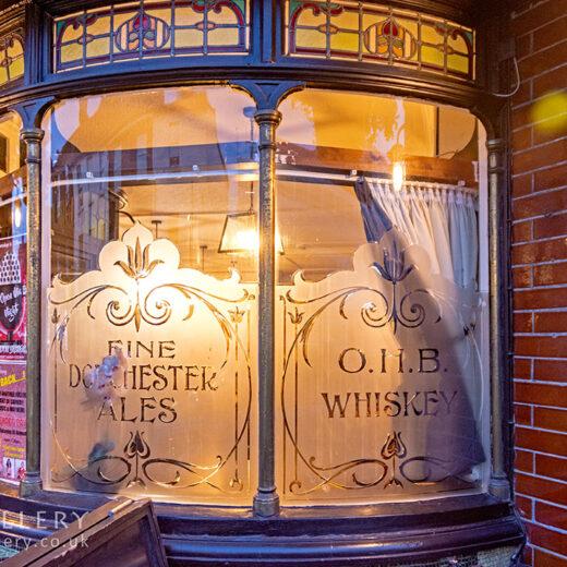 Avon Brewery, Salisbury: Close-up of windows