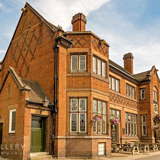 British Oak, Birmingham: Full pub exterior