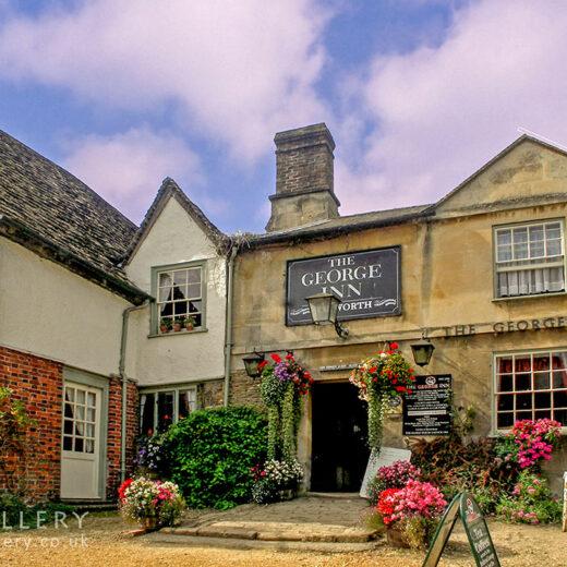 George, Lacock: Full pub exterior