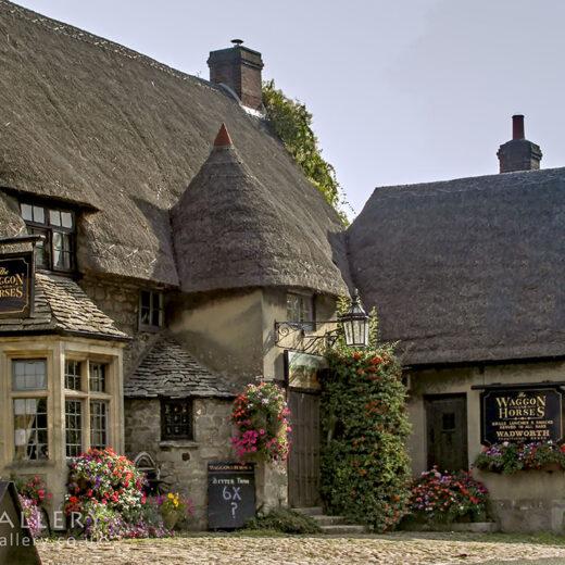 Waggon & Horses, Beckhampton: Part of pub exterior
