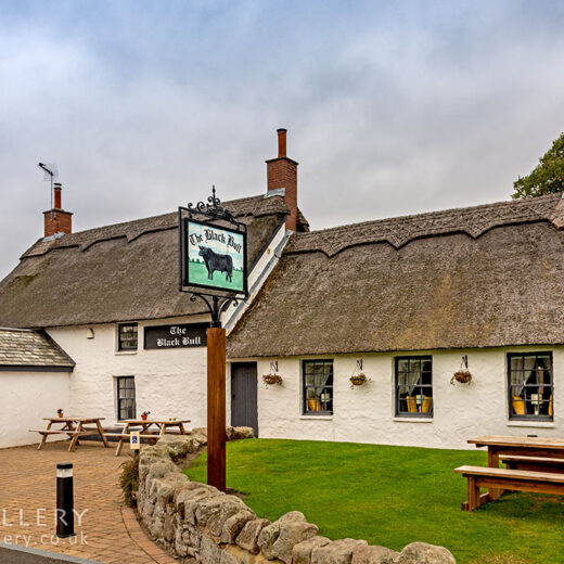 Black Bull, Etal: Pub exterior