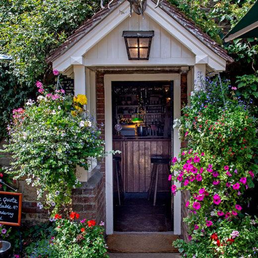 Stag Inn, Balls Cross: Pub doorway